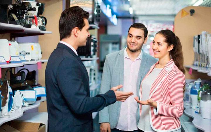 Comunicación con el cliente en actividades de promoción e información
