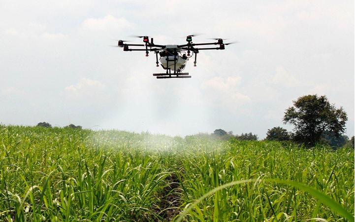 La tecnología dron aplicada al sector agrario y ganadero