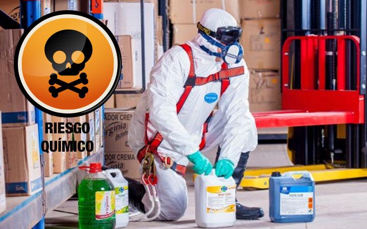 Agentes químicos en un proceso de prevención de riesgos