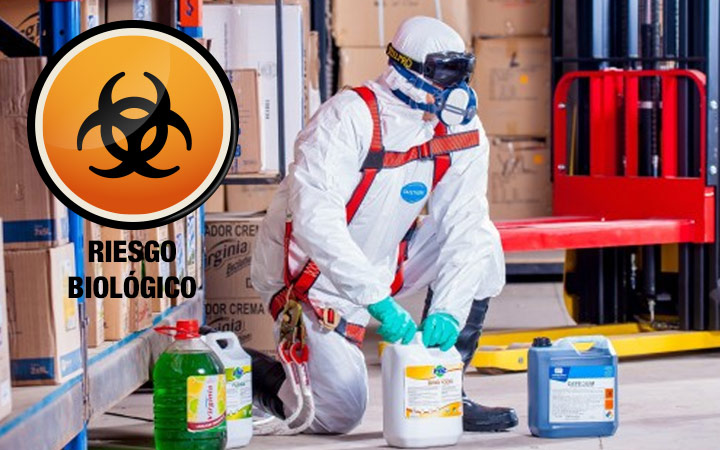 Agentes biológicos en un proceso de prevención de riesgos